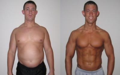 Shaun Dillon Body Transformation