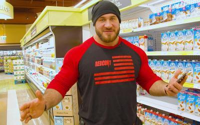 [Video] Grocery Shopping with Pro Bodybuilders w/ Antoine Vaillant
