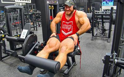Big & Beefy Leg Workout w/ Antoine Vaillant