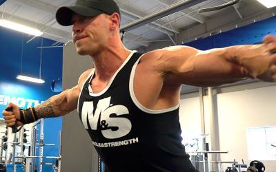 Anton Antipov's Striated Chest Workout