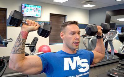 Training On The Go - Anton Antipov's Hotel Gym Workout Circuit