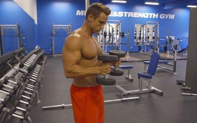 A Simple and Effective Bicep/Medial Deltoid Combo Exercise