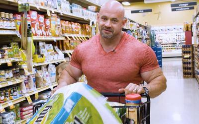 Grocery Shopping with Pro Bodybuilders w/ Branch Warren
