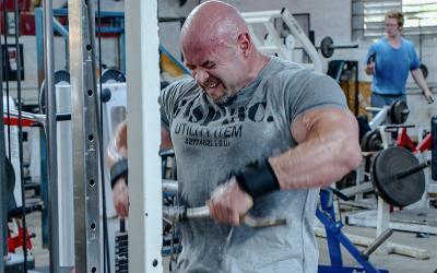 Branch Warren's Shoulder Workout at Metroflex Gym