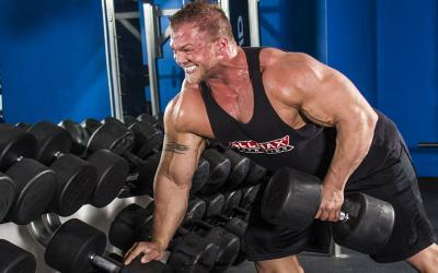 Super Heavy Brandon Beckrich's Big Back Day at Muscle & Strength Gym