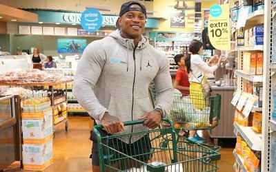[Video] Grocery Shopping with Men's Physique Champion Brandon Hendrickson