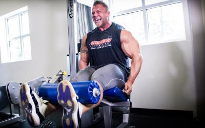 Off Season Leg Day Workout With Brandon Beckrich