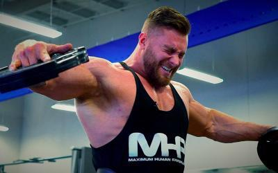 Aesthetic Bodybuilding Shoulder Workout with Chris Bumstead