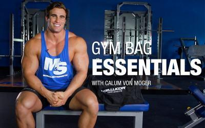 12 Gym Bag Essentials with Calum Von Moger