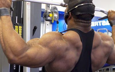 Cedric McMillan's Full Back Workout at the M&S HQ Gym