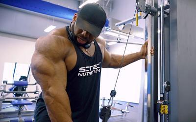 How To Build Thick & Defined Triceps w/ Cedric McMillan