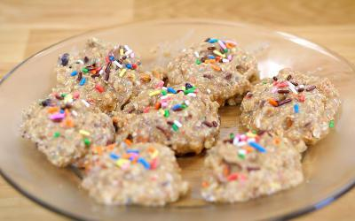Cellucor Birthday Cake Protein Bites Recipe With Jen Jewell