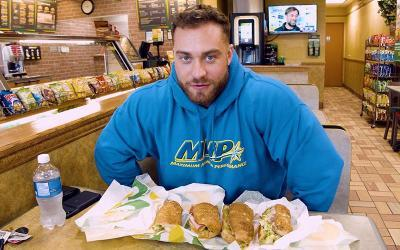 [Video] Cheat Meals with Pro Bodybuilders w/ Chris Bumstead
