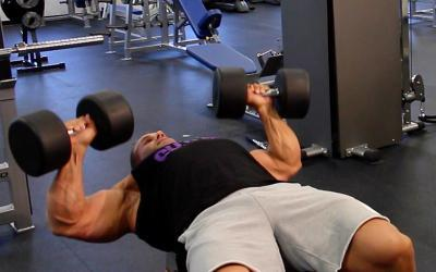 Jay Cutler's Training Tips: DB Bench Press