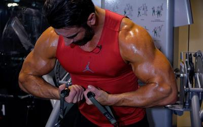 Joe Donnelly's Intense Upper Body Cable Workout