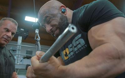 [Video] Fouad Abiad's Big Arm Day Workout