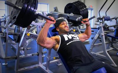 High Volume Chest Workout with IFBB Pros Gerardo Gabriel & Brett Kahn