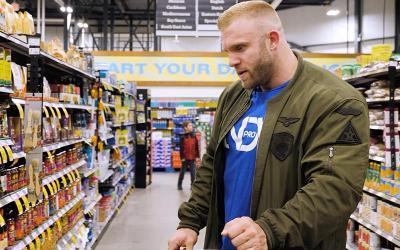 [Video] Grocery Shopping with Pro Bodybuilders w/ Iain Valliere