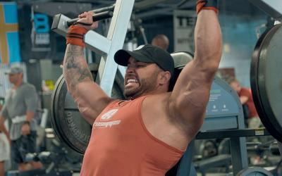 [Video] Badass Shoulder Building Workout (Plus MAJOR Blood Sugar Crash!)