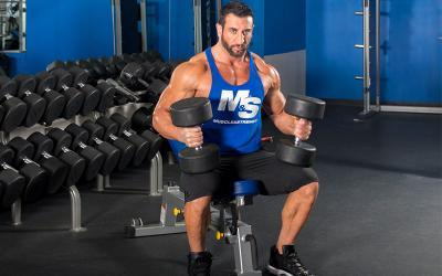 Joe Donnelly's Intense Superset Workout