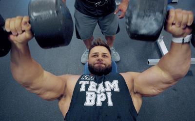 Regan Grimes vs. Jose Raymond - Heavy Bodybuilding Chest Workout