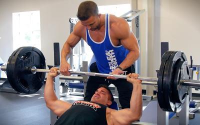 IFBB Physique Pros Brett Kahn & Chase Savoie's Chest Building Workout