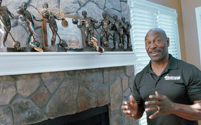 An Inside Look into the Trophy Case of 8x Undefeated Mr. Olympia Lee Haney