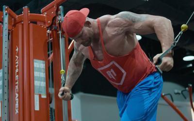 7 Ft. Genetic Giant Chest Workout w/ Matt Morgan