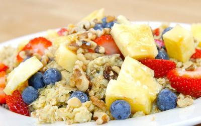 "Kris Gethin's 10 Minute ""Muscle Mush"" Bulking Breakfast"