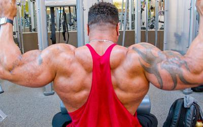 "[Video] Patrick ""The Future"" Moore's Arnold Classic Back Workout"