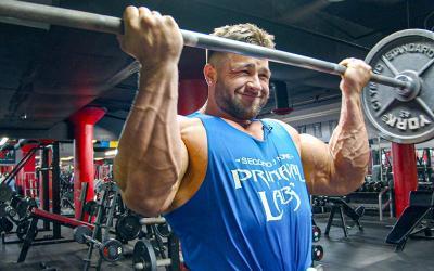 [Video] Regan Grimes' High Volume Arm Workout at FlexPlex Gym