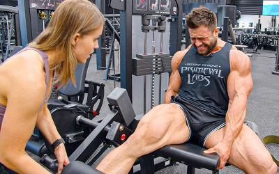 [Video] Regan Grimes' Leg Day on Prep