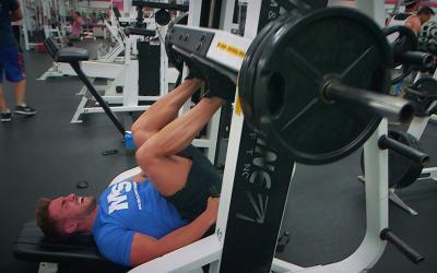 Ryan Terry's Drop Set Quad Workout