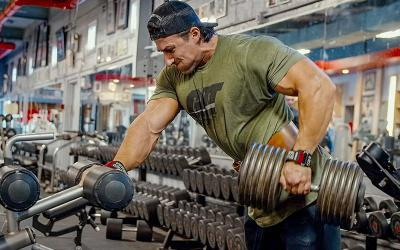 [Video] Sadik Hadzovic's Back & Tricep Workout w/ Dr. Mike Camp