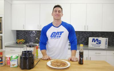 Super Easy Protein Pancakes Recipe With Sadik Hadzovic