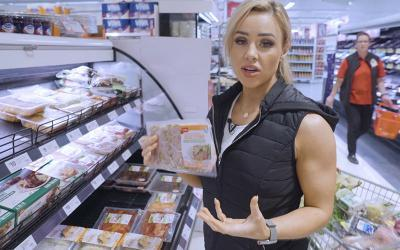 Grocery Shopping with Powerlifters w/ Stephanie Sanzo