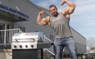 [Video] Grilling with Pro Bodybuilders w/ Steve Kuclo