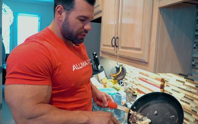 What Pro Bodybuilders Eat For Breakfast Pt. 2 Ft. Steve Kuclo