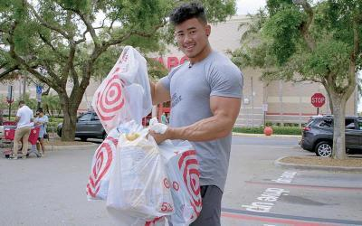 Grocery Shopping with Physique Pros w/ Steven Cao