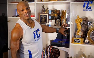 An Exclusive View of the Trophy Case of 8x Mr. Olympia Ronnie Coleman