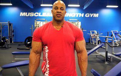 Pro Bodybuilder Victor Martinez's Chest Training Tips