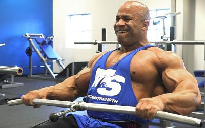 IFBB Pro Victor Martinez's Heavy Back Workout At M&S Gym