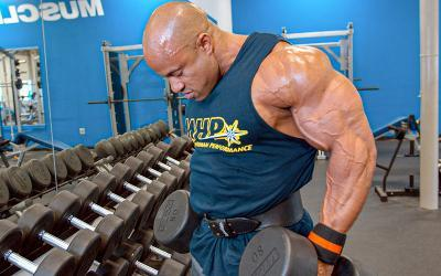[Video] Victor Martinez's Shoulder Workout at Muscle & Strength