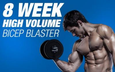 8 Week High Volume Bicep Blaster