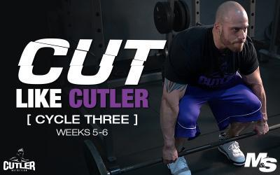 Cut Like Cutler Trainer - Cycle 3