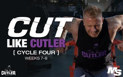 Cut Like Cutler Trainer - Cycle 4
