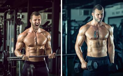 DumbBar Workout: Make Killer Gains With Dumbbell & Barbell Supersets
