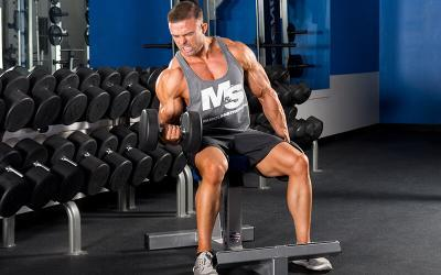 "The ""Guns-A-Blazing"" Arm Training Workout Routine"