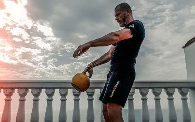 Full Body Kettlebell at Home (or Anywhere) Circuit Workout