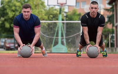 Minimal Equipment Series: 2 Full Body Medicine Ball Workouts
